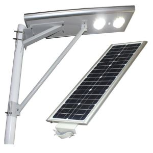 Outdoor Integrated Solar LED Street Light with Motion Sensor for Yard and Garden