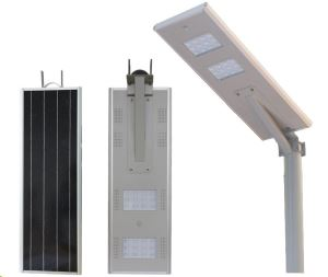 30W 40W all in one Solar street lamp with 6m height Hot Galvanized pole